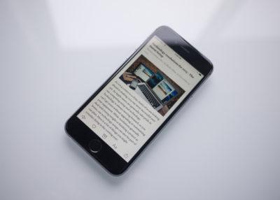 iPhone 6: Information Density