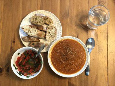 Tomato Soup & Bruschetta