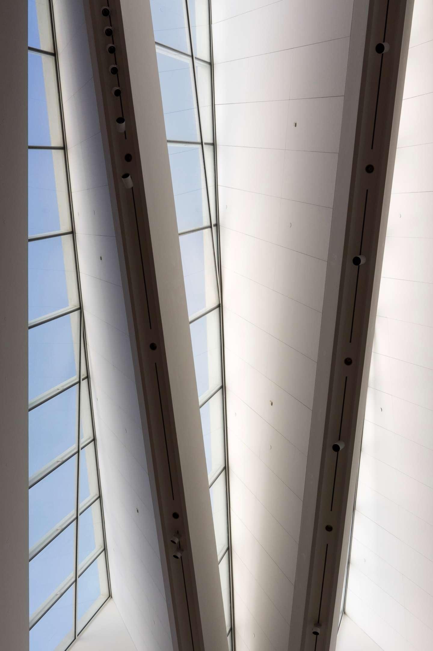 Blanton Museum of Art: Skylights 2017-08-30