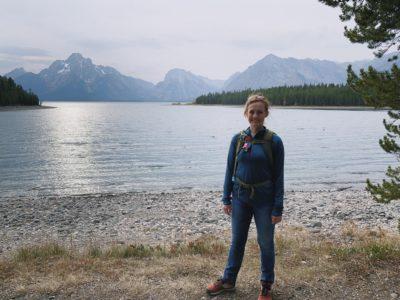 Hiking at Grand Teton