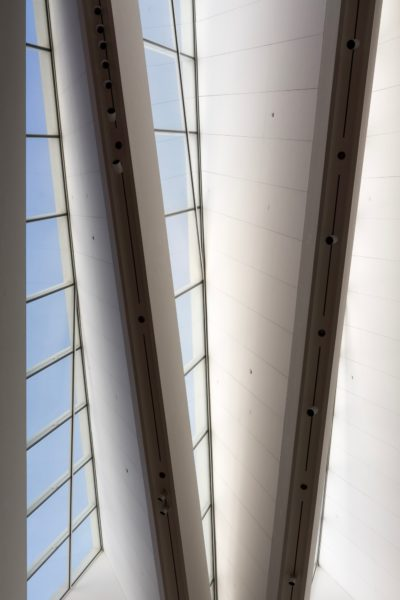 Blanton Museum of Art: Skylights 2017-08-30