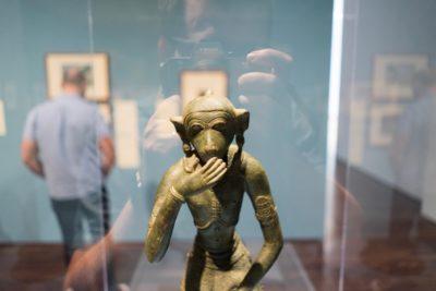 Blanton Museum of Art: Laughing Monkey 2017-08-30