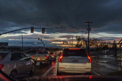 Salt Lake Sunset 2017-12-05