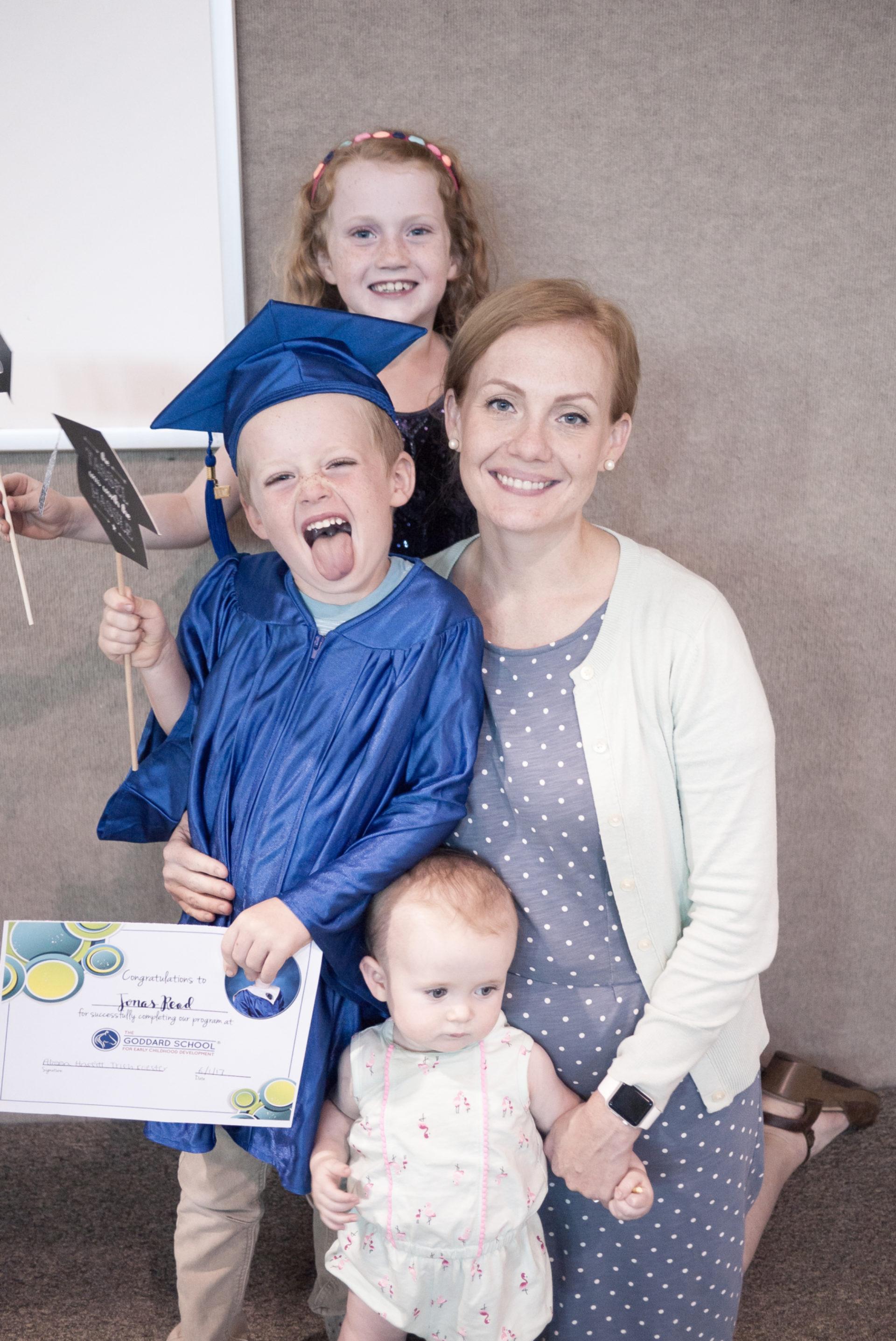 Little Man's Graduation
