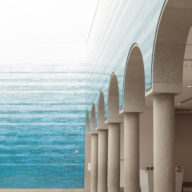 Blanton Museum of Art: Hall & Arches 2017-08-30