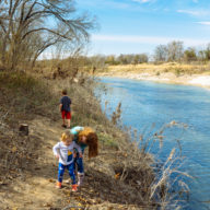 Kids at Lake Georgetown